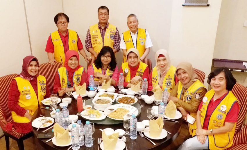 "Lions Club Makassar Rajawali Gelar ""Lunch The End of The Year 2019"" di Sunachi Hotel Claro"